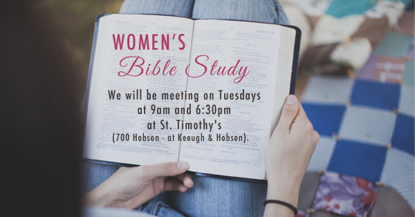 Women's Fall Bible Study